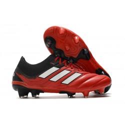 adidas Botas de fútbol Copa 20.1 FG Rojo Blanco Negro