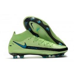 Nike Phantom GT Elite DF FG Fútbol Zapatillas - Verde Negro