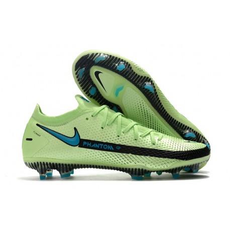 Nike 2021 Zapatillas Phantom GT Elite FG Verde Negro Azul