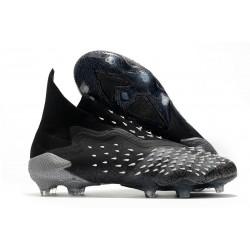 Zapatos adidas Predator Freak+ FG Negro Gris Blanco