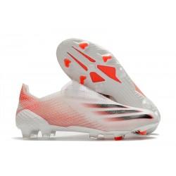 Zapatillas adidas X Ghosted+ FG Blanco Rosso Negro