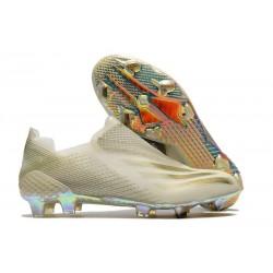 Zapatillas adidas X Ghosted+ FG Blanco Oro