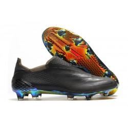 Zapatillas adidas X Ghosted+ FG Negro Azul