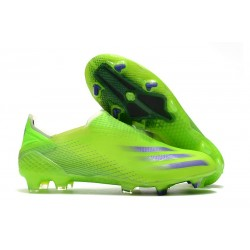 Zapatillas adidas X Ghosted+ FG Verde Tinta Energía