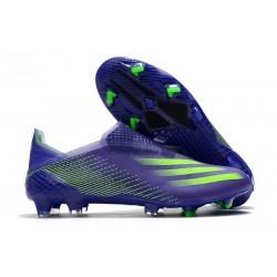 Zapatillas adidas X Ghosted+ FG Tinta Energía Verde