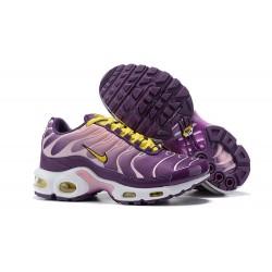 Nike Air Max Plus Zapatilla Para Mujer - Violeta Amarillo