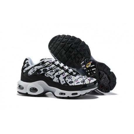 Nike Air Max Plus Zapatilla Para Mujer - Negro Blanco
