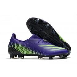 Bota de futbol adidas X Ghosted.1 FG Tinta Energía Verde