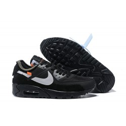 Nike Air Max 90 x Off White Zapatillas Negro Blanco