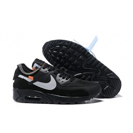 Nike Air Max 90 x Off White Zapatillas Negro Blanco