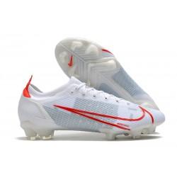 Zapatillas Nike Mercurial Vapor 14 Elite FG Blanco Rojo