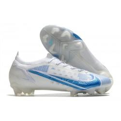 Zapatillas Nike Mercurial Vapor 14 Elite FG Blanco Azul