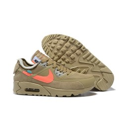 Nike Air Max 90 x Off White Zapatillas Desert Ore