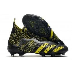 Zapatos adidas Predator Freak+ FG Negro Amarillo
