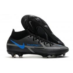 Nike Zapatillas Phantom GT2 Elite DF FG Negro Gris Hierro