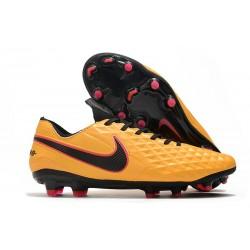 Nike Botas Tiempo Legend 8 Elite FG ACC - Naranja Negro