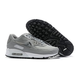 Nike Zapatos Hombres Air Max 90 Gris