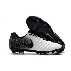 Botas Nike Tiempo Legend VII Elite FG - Blanco Negro