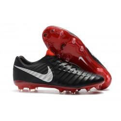 Botas Nike Tiempo Legend VII Elite FG - Negro Plata