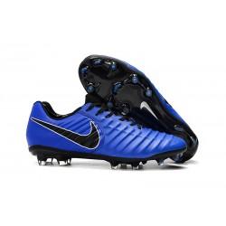 Botas Nike Tiempo Legend VII Elite FG - Azul Negro